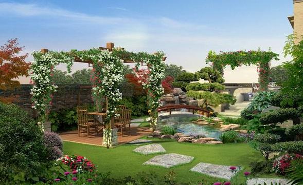 嘉兴花园设计